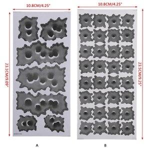 Image 5 - Автостайлинг наклейки 3D пуля отверстие графика мотор смешные наклейки Авто украшения автомобильные наклейки