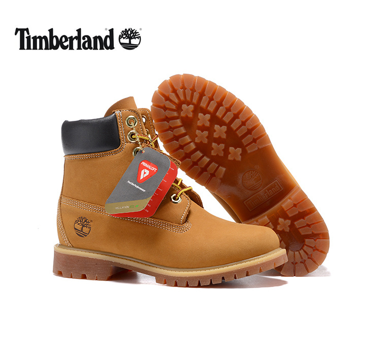 TIMBERLAND Women 100% Waterproof Original 10361 Winter Boots,Woman Female Genuine Leather Ankle Wheat Yellow Outdoor Warm Shoes