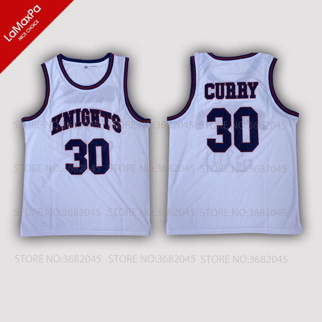 best cheap bb1dc afc23 Cheap Stephen Curry 30 Basketball Sleeveless Jerseys Charlotte Christian  Knights HS Throwback Stitched Retro High Quality Shirt-in Basketball  Jerseys ...