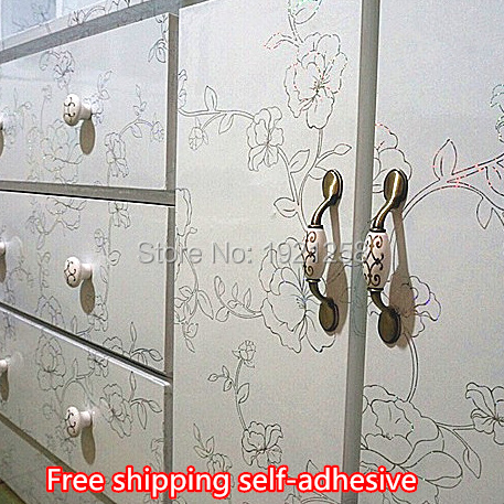 Buy waterproof wood furniture renovation stickers self adhesive wallpaper rolls - Stickers per mobili ...