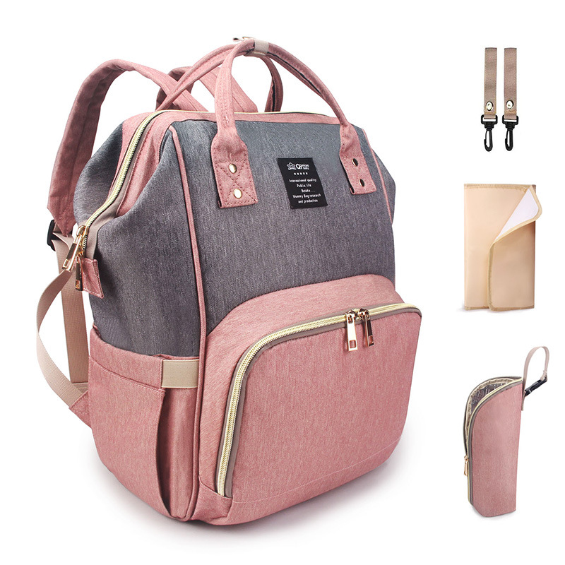 Multi function Large capacity Mummy Package Maternal Expectation Package Maternal and Child Supplies Out of the Backpack
