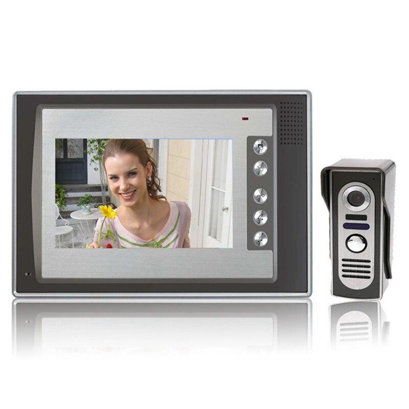 ビデオ deurtelefoon Deurbel インターホン Systeem 7 インチ液晶モニター Handenvrij 700TVL IR カメラ -