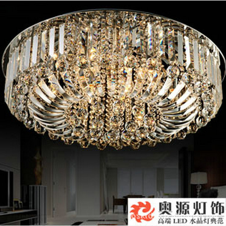 New Name Brand Modern Luxury Bedroom Drawing Room Dining Hall Crystal Ceiling Chandelier Led Lamp