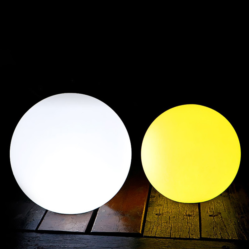 Hot Sale High Solar Power LED Ball Lamp Color Changing/Steady RGB Light Rechargeable Pool Garden Decor Night Lights Ball LG66