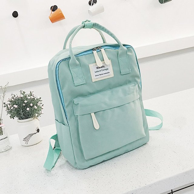 OUTAD Cute Canvas Backpack female kanken Teenage Women
