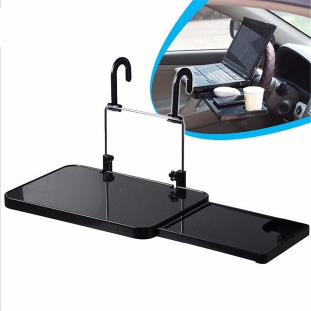 Car Laptop Holder Back Seat Notebook Stand Car Cup Holder Dining Table  Foldable Laptop Stand Food