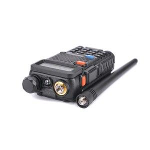 Image 2 - 2 pezzi Baofeng UV 5R UHF VHF Walkie Talkie Dual Band Radio bidirezionale Comunicador autoradio stazione PTT Baofeng UV 5R UV 5R Woki Toki