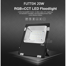 Miboxer FUTT05  LED Outdoor Lighting 10W/20W/30W/50W RGB+CCT IP65 Waterproof AC86-265V led Flood light For Garden