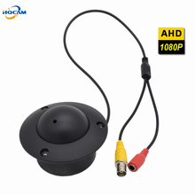 HQCAM Mini CCTV Dome AHD Camera 2.0MP 1080P Indoor Elevator Lift camera Security UFO Camera