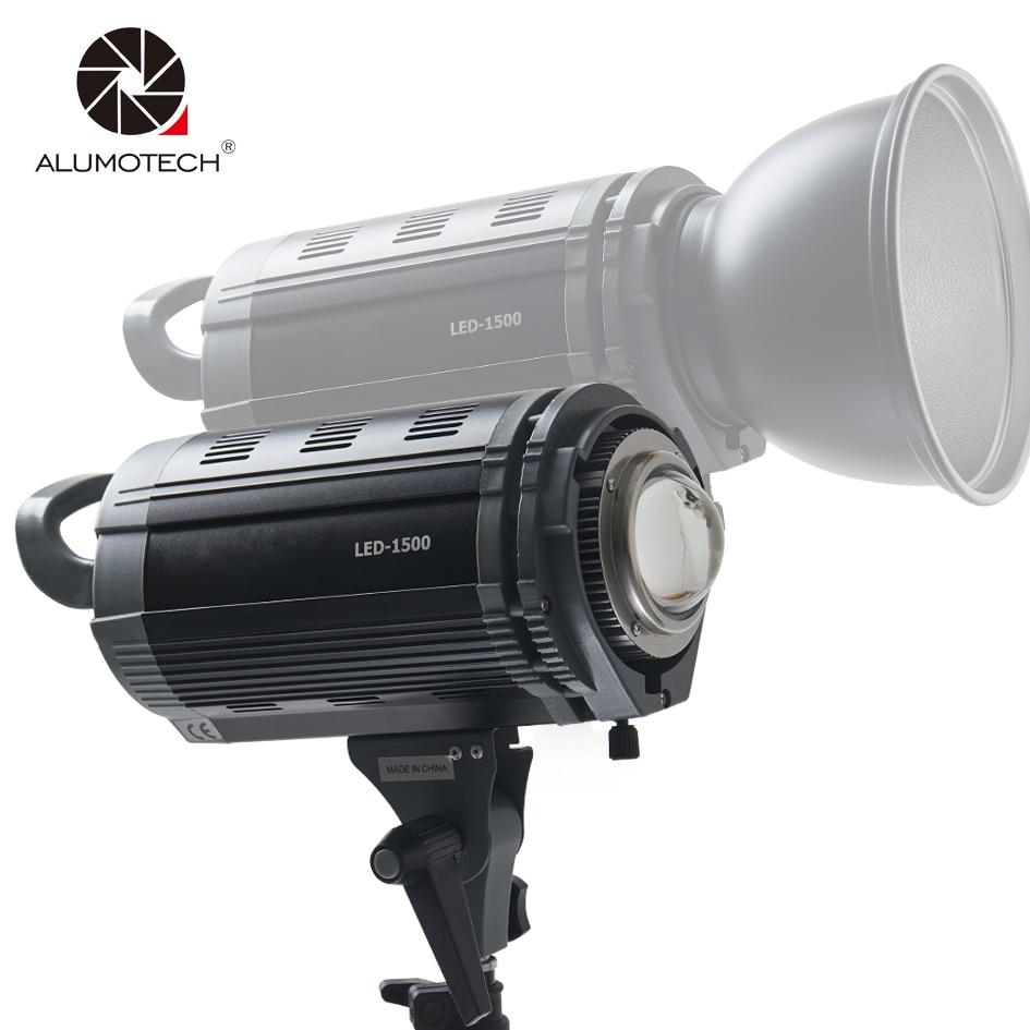 Alumotech 150 W led Gradation 3200 K/5600 K Flash Éclairage Speedlite lampe stroboscopique Pour la photographie Studio Caméra