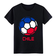 Chile Womens National Soccer Team Country Flag t shirt designer Short Sleeve round Neck Standard Gift Basic Kawaii