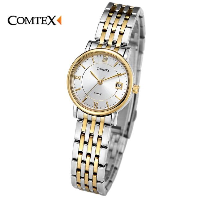 Eccezionale COMTEX orologi da Donna Fashion Casual Orologio Delicato Orologio  EX15