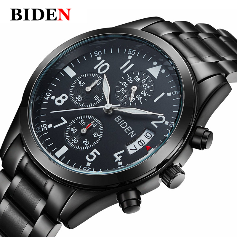 Luxury Brand Sports Quartz Watch Men Fashion Casual Military Watch Steel Waterproof Men's Watches Clock Date Hour weide new men quartz casual watch army military sports watch waterproof back light men watches alarm clock multiple time zone
