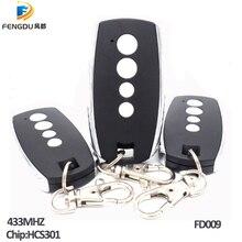 5pcs/lots Rolling code remote control HCS301, universal garage remotes, remote rf control