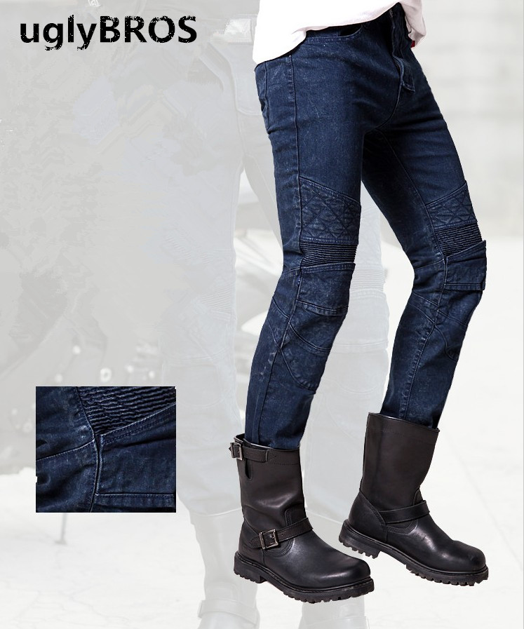 UGLYBROS Guardian ubp09 font b Jeans b font Motorcycle Protective Pants font b Men s b