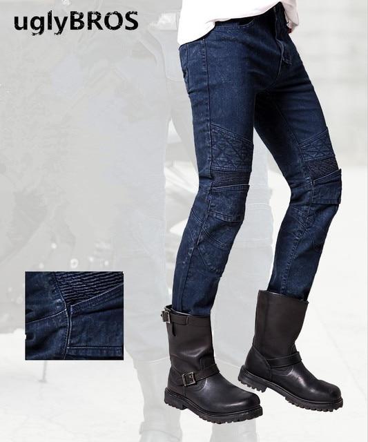 Jeans Ubp09 Racing Pantalon Tuteur De Protection Moto Uglybros nAEYq