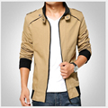 2017 new fashion spring autumn male casual jacket solid fall mens jackets and coats men's jacket plus size 3XL  B018