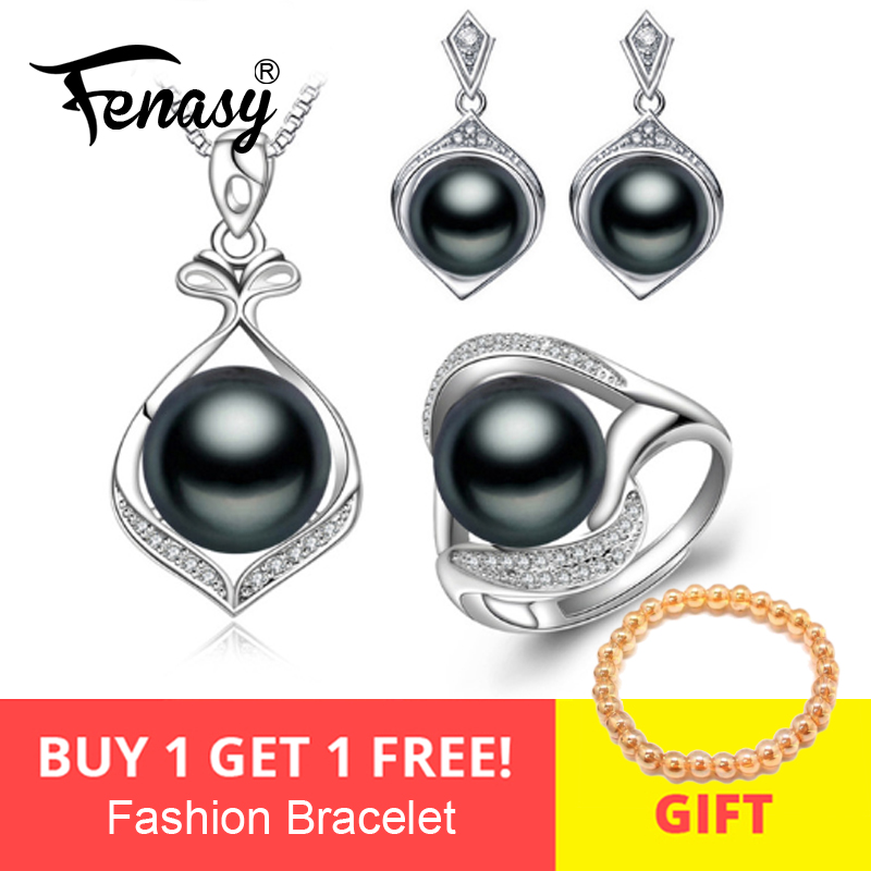 FENASY Pearl Jewelry,Pearl Pendant Necklace Freshwater ethnic earrings,antique ring,bridal jewelry sets,stud earrings for womenFENASY Pearl Jewelry,Pearl Pendant Necklace Freshwater ethnic earrings,antique ring,bridal jewelry sets,stud earrings for women
