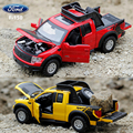Ford F150 Raptor Pickup Car 1:32 Alloy Car Simulation Exquisite Model Alloy Toy Metal Vehicles Acousto-optic brinquedo menino