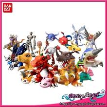 PrettyAngel orijinal Bandai 20th yıldönümü dijital kapsül maskot koleksiyonu Mini şekil
