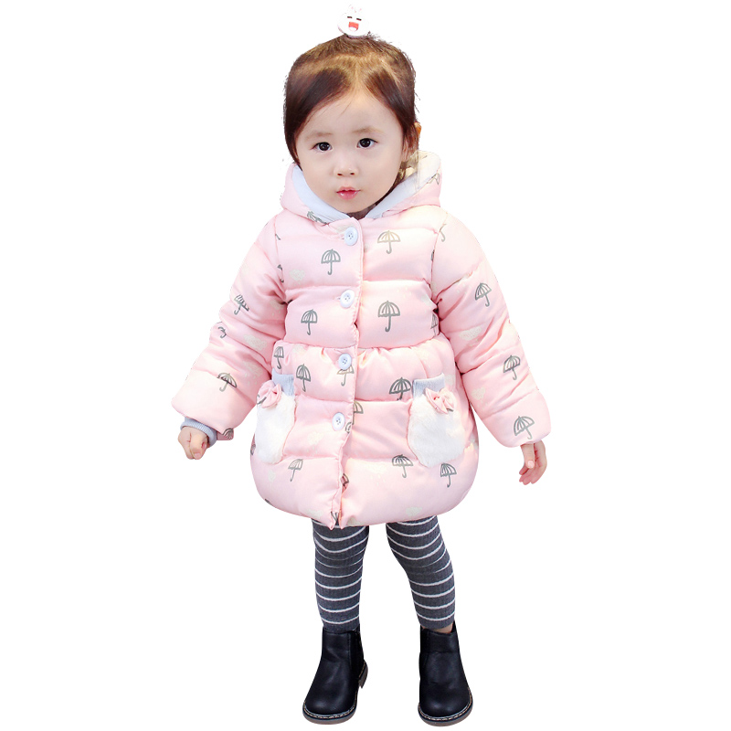 0-6 months female baby cotton coat down cotton child winter clothes female baby cotton clothes jacket coat Christmas цены онлайн
