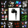 Outdoor Garden Laser Projector Lamps With 12pcs Xmas Patterns Waterproof LED Stage Light For Christmas Garden