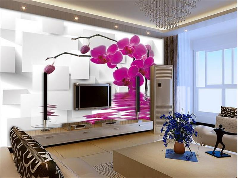 3d room photo wallpaper custom mural moth orchid 3d photo painting room sofa TV background wall wallpaper non-woven wall sticker 3d room photo wallpaper custom mural moth orchid 3d photo painting room sofa tv background wall wallpaper non woven wall sticker