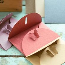 10PCS mail shipping supplies Buckle Kraft Paper Envelopes Simple Love Retro Envelope gift envelope paper