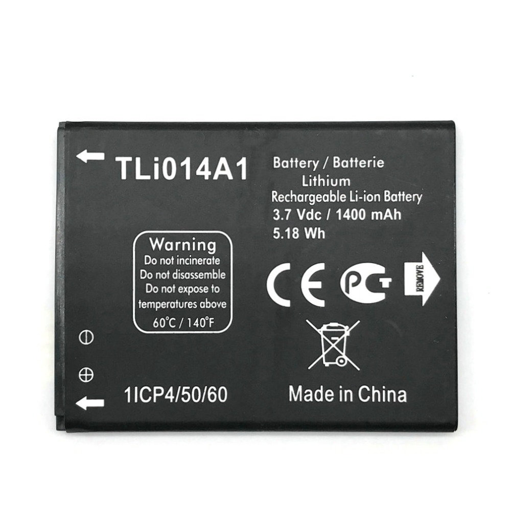 1pcs 100% High Quality 1400mAh Battery For Alcatel 4013d Battery One Touch Pixi 3 4.5