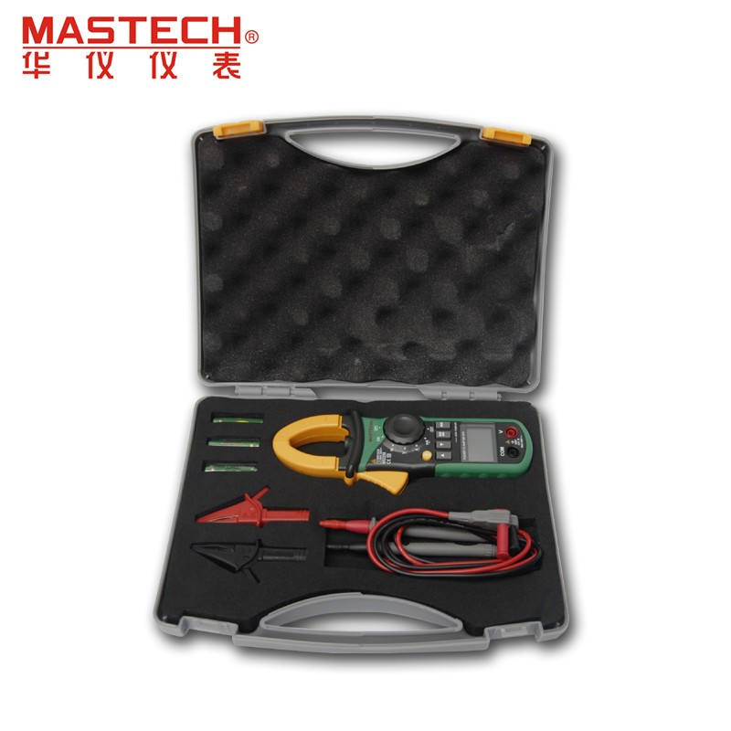 Mastech MS2208 Harmonic Power Clamp Meter Tester Multimeter Trms Voltage Current Power Phase Angle Test (3)