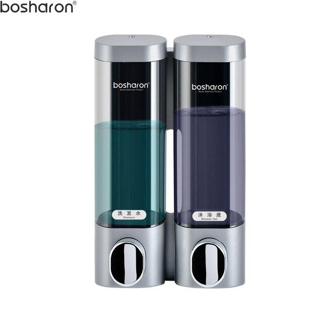 Wall Mount Soap Dispenser 300ml Holder For Liquid Shampoo Showel Gel Hand Sanitizer Abs Plastic
