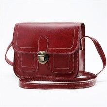 BLAGY Crossbody Bags for Women Flaps Brand Solid Messenger Women Shoulder Bags Small Ladies PU Leather bolsa feminina