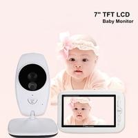 7.0 inch Large LCD Screen Baby Camera Monitor Wifi Portable Wireless Babyphone Holder Intercom Audio Video Nanny Babysitter