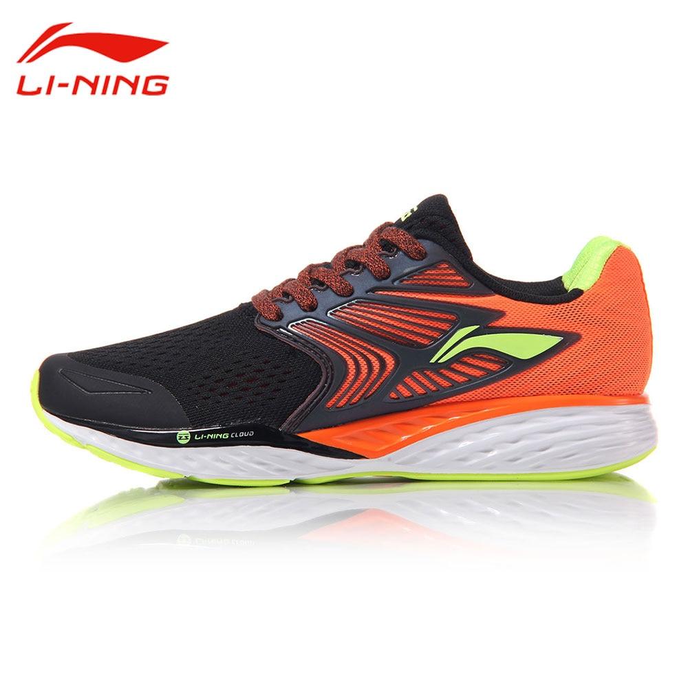 Li-Ning Men's Cloud IV Cushioning Running Shoes LiNing Professional MONO YARN Light Sneakers LI NING Stable Sports Shoes ARHM019 стоимость