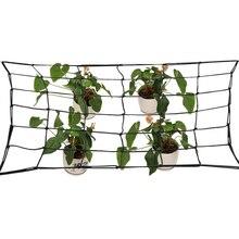 80*80 см эластичная садовая резиновая решетчатая сетка поддержка для растительного Ползучая лоза растения садовая сетка Цветочная сетка для поддержки растений