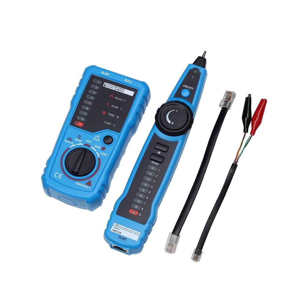 FWT11 De Poche RJ11 RJ45 Réseau Téléphonique Fil Tracker Ethernet LAN Câble Testeur Détecteur Ligne Finder multifonction outil