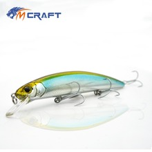 Купить с кэшбэком MCRAFT Fishing lure Jerkbait wobblers 13cm 20g Hard Bait Minnow Crank Fishing lures Bass Fresh Salt water quality professional