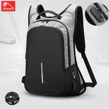Anti theft Backpack Men Business Stylish Travel Bagas Password Lock Fashion Bag  USB Rucksack Mochila Pack Women Sport Bag