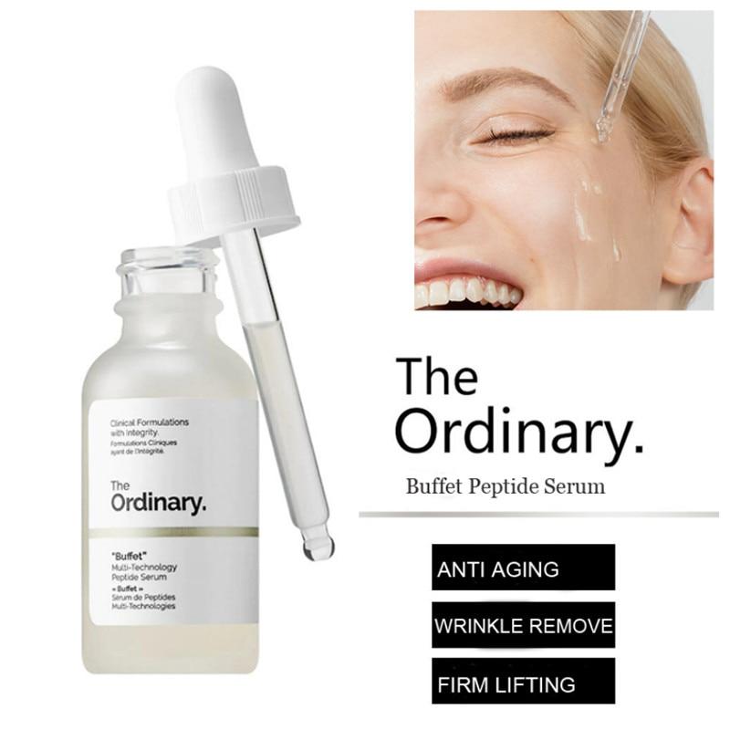 Peptide Serum Target Buffet Anti-Wrinkle Multi-Technology The Ordinary 30ml Firming
