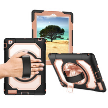 Case for iPad 2/3/4 Miesherk Shockproof Drop Protection Cover Tablet with 360 Degree Rotating Handle Stand 9.7 inch