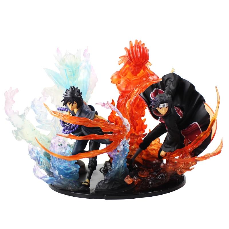 21cm Anime Naruto Sasuke Uchiha Itachi Fire Figuarts Zero Sasuke Susanoo Relation PVC Action Figure Collectible Model Toys orangemom brand summer spring baby romper long sleeves 100