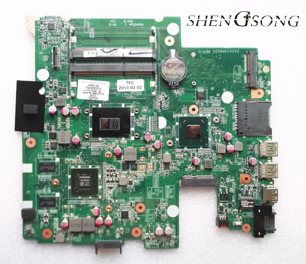 698494-501 698494-001 Free Shipping for hp Seekbook 14 laptop motherboard DAOU33MB6D0 ,100% TESTED with warranty free shipping 100% tested 583079 001 for hp 4410s 4510s laptop motherboard with for intel gm45 chipset ddr3