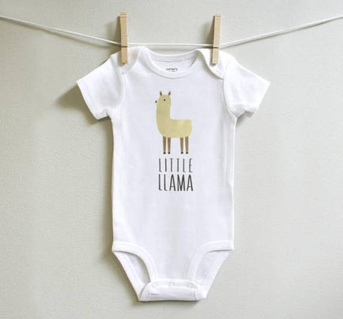 Newborn Kids Baby Boy Girl Llama Bodysuit Playsuit Summer Cartoon Clothes Outfits ...
