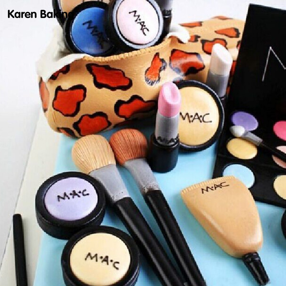 One Set 3pcs Makeup Tools And Loose Powder And Eye Shadow And