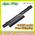 Apexway 6 celdas de batería portátil para asus a32-k93 a41-k93 a42-k93 a93 A93S A93SM A93SV A95 A95V A95VM K95 K93 K93S K93SM K93SV