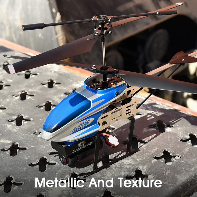 Original RC Helicopter 1080P Camera Drone 3CH RC Flying Toy Gyro Radio Control Metal Alloy Fuselage Mini Copter Crash Resistant