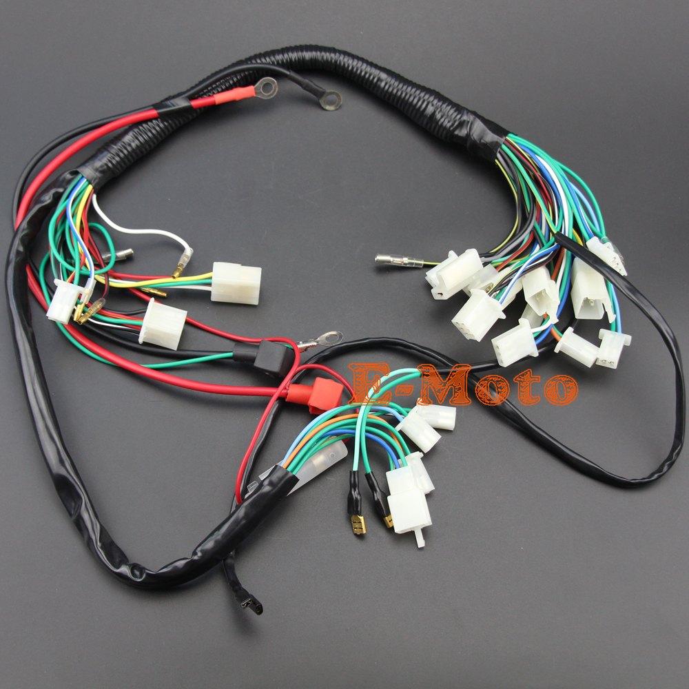 popular atv wiring harness buy cheap atv wiring harness chinese 110cc wiring harness chinese wiring harness for 200cc wildfire [ 1000 x 1000 Pixel ]