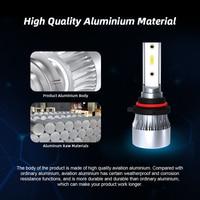 led white car 2Pcs H7 H4 LED H1 H11 HB3 9005 HB4 9006 12000LM 80W Super Bright Car Headlight Bulbs 60000K White Auto Lights 12V 24V Headlamp (3)