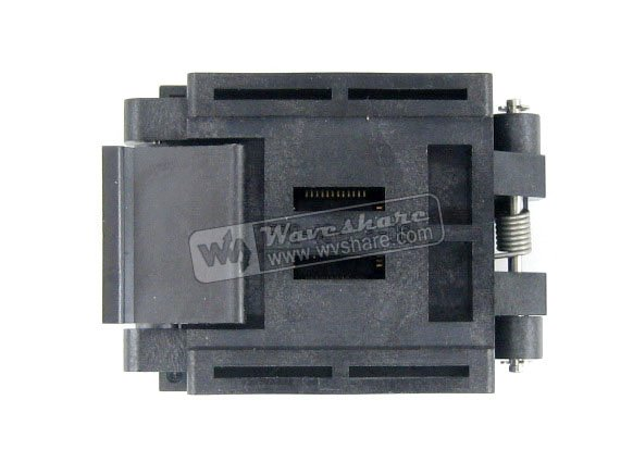 QFP48 TQFP48 LQFP48 PQFP48 FPQ-48-0.5-06 QFP IC Test Burn-In Socket Enplas 0.5mm Pitch