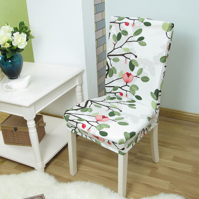 Impresión Floral Anti sucio Stretch silla elástica silla Protector ...